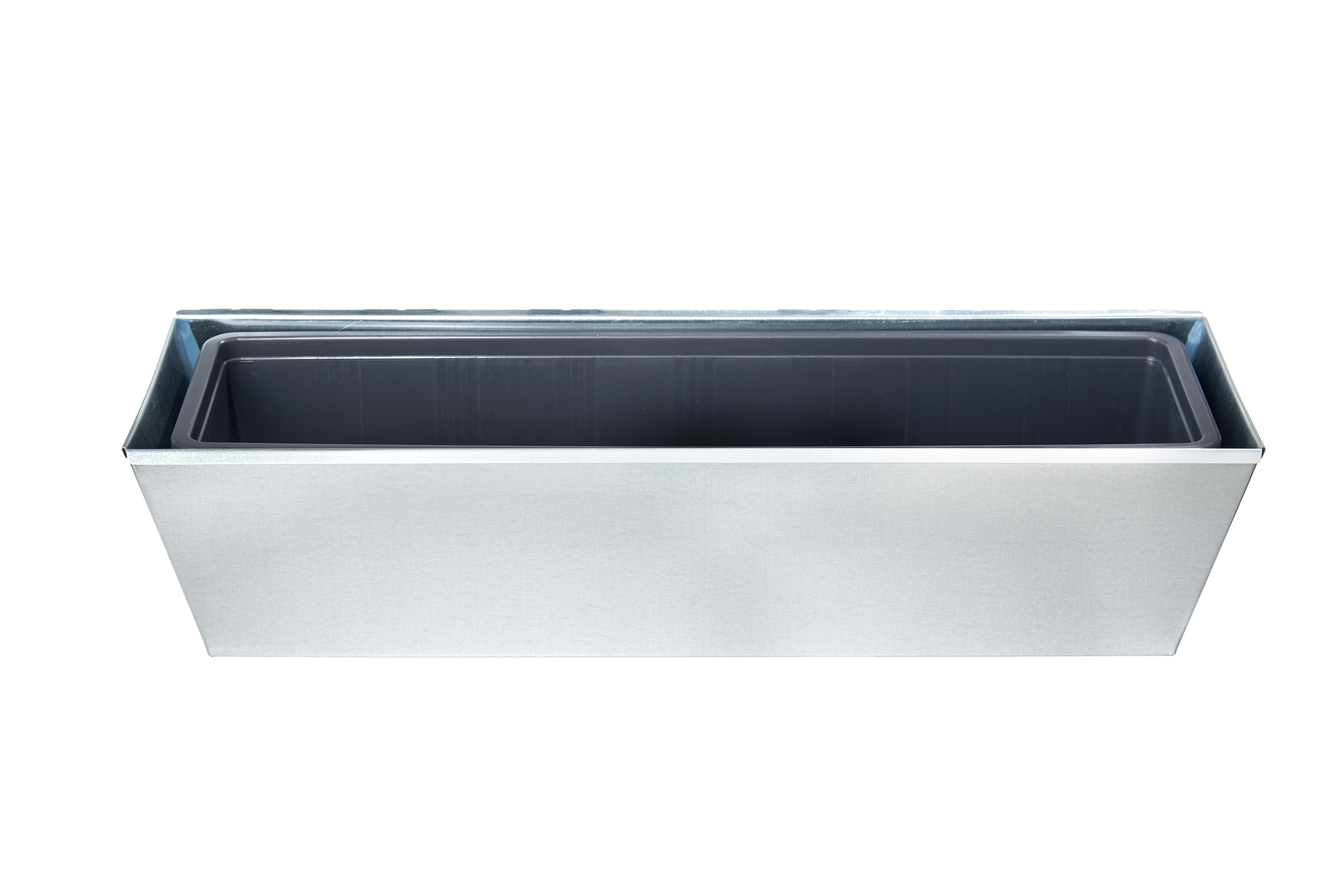gabioka flowerbox 60cm standard verzinkt