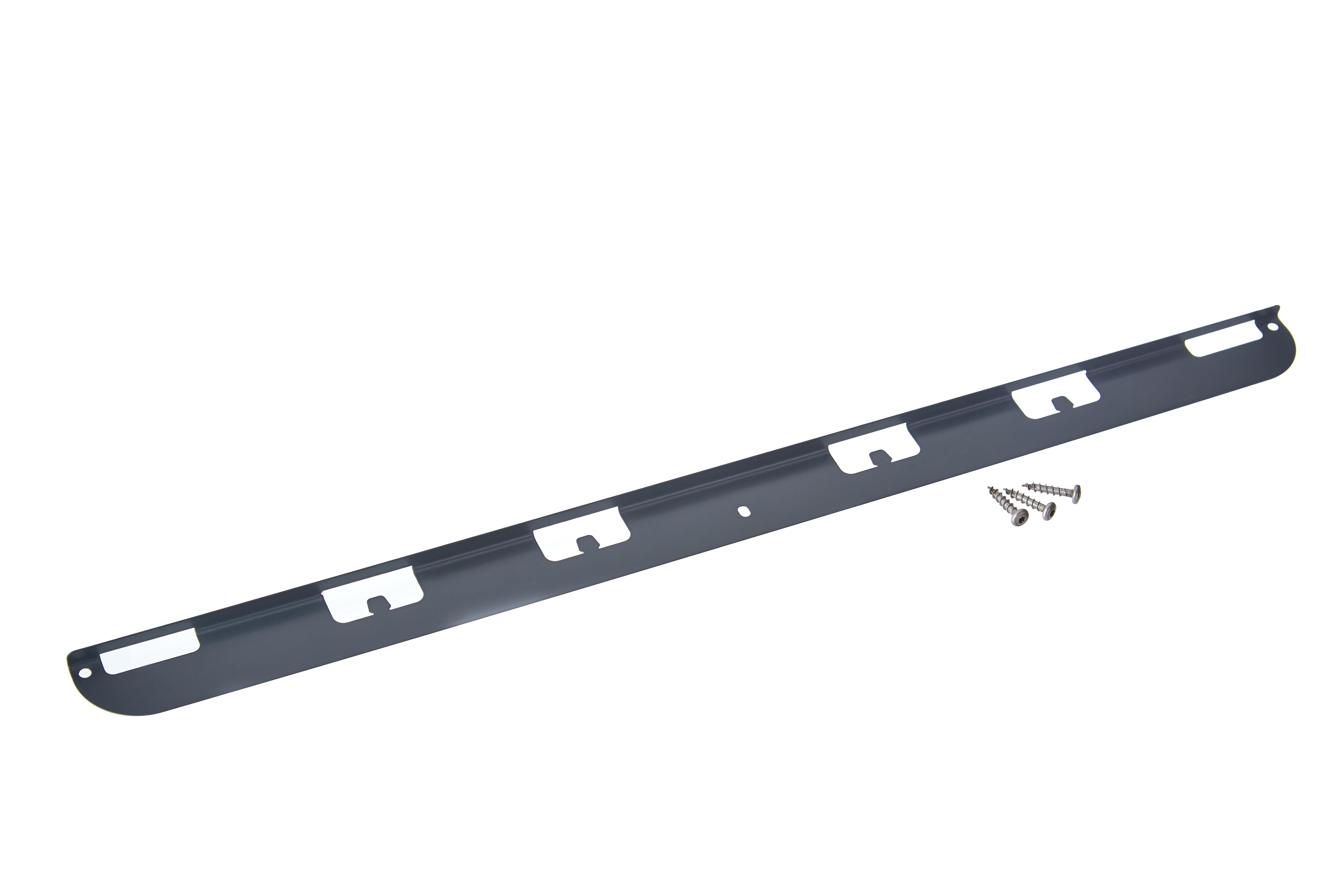 gabioka Einhängewinkel 60cm anthrazit pulverbeschichtet (RAL 7016 glatt matt)